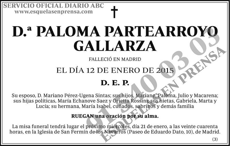Paloma Partearroyo Gallarza